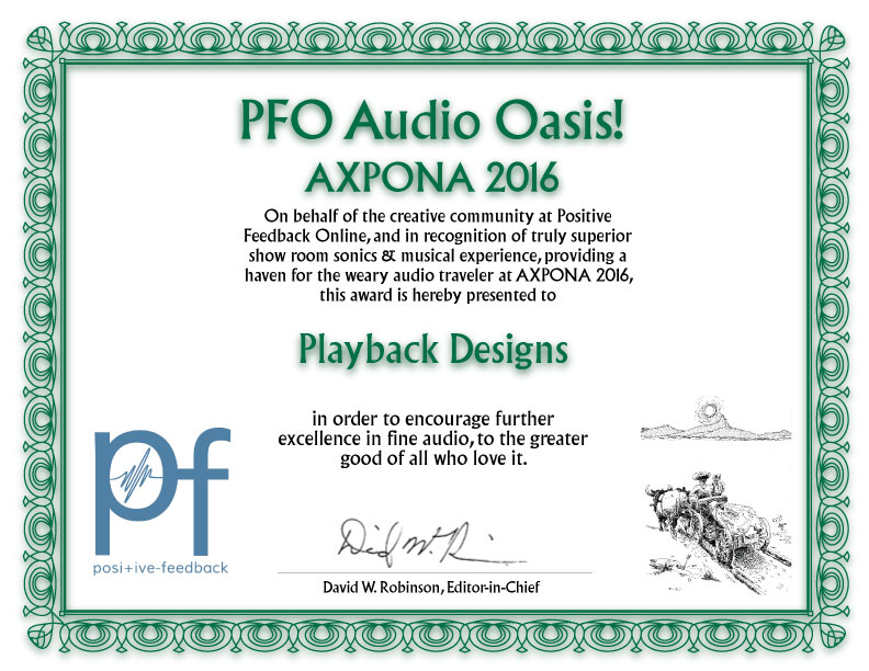 PFO Audio-Oasis at Axpona